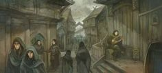 Streets of Lake-Town by JonHodgson