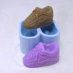 Sneakers Shoes 3D Flexible Silicone Mold Silicone by MoldHouse