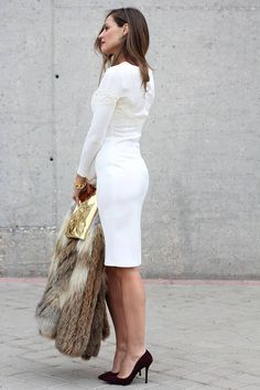 The #Perfect #White #Dress