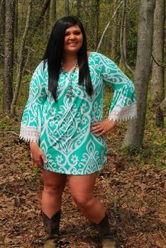 JUNIOR PLUS SIZES!!!! The Lolly Lace Dress - Mint $54.99 #SouthernFriedChics