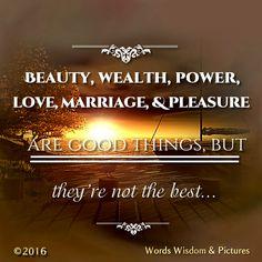 Words Wisdom & Pictures  Tʜᴇ ʙᴇsᴛ ɪs ʟᴏᴠɪɴɢ Gᴏᴅ ᴀɴᴅ ᴛᴀᴋɪɴɢ ɪɴ Hɪs ʟᴏᴠᴇ—ʙʀɪɴɢɪɴɢ Hɪᴍ ɢʟᴏʀʏ ᴀɴᴅ ᴍᴀᴋɪɴɢ Hɪᴍ ᴏᴜʀ ғʀɪᴇɴᴅ ғᴏʀ ʟɪғᴇ. Tʜᴀᴛ ʟᴇᴀᴅs ᴛᴏ ᴛʜᴇ ʙᴇsᴛ ᴘᴏssɪʙʟᴇ ʟɪғᴇ ʙᴇᴄᴀᴜsᴇ ɪᴛ ɢɪᴠᴇs ᴜs sᴀᴛɪsғᴀᴄᴛɪᴏɴ ᴀɴᴅ ᴊᴏʏ ɴᴏᴡ (Jᴏʜɴ 10:10), ᴀɴᴅ ɪᴛ's ᴡʜᴀᴛ Cʜʀɪsᴛɪᴀɴs ᴀʀᴇ ɢᴏɪɴɢ ᴛᴏ ʙᴇ ᴅᴏɪɴɢ ғᴏʀᴇᴠᴇʀ.  Bʏ Dᴀᴠɪᴅ Rᴏᴘᴇʀ/Oᴜʀ Dᴀɪʟʏ Bʀᴇᴀᴅ