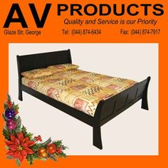 Spoil your loved one this festive season with this gorgeous panel sleigh bed from AV Produkte / AV Products. Sleigh Beds, Solid Wood, Festive, Furniture, Home Decor, Products, Decoration Home, Room Decor, Home Furniture