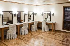 Bridal dressing room, 81 Ranch, Enid, Photos courtesy of Chris Humphrey