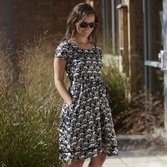Fair trade clothing: Women - Charlotte Dress-Black