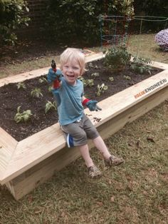 DIY Raised Vegetable Garden Plans | Free Plans | rogueengineer.com #DIYgarden #outdoorDIYplans