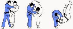 Uchi-mata-sukashi: Inner thigh void throw