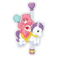 Care Bears Wall Graphics from Walls 360: Care Bear Carnival: Love-a-lot Bear Pony