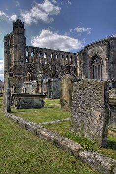 Elgin Cathedral Scotland