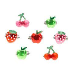 Kids 7 Pack Fruit Rings