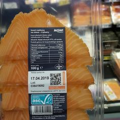 EVRYTHNG gives consumer goods digital identities Seafood Company, Printing Labels, Smoked Salmon, Fruit, Ethnic Recipes, Hunting, Digital, Atlantic Salmon, Fighter Jets