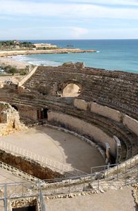 Roman Ampitheater -Tarragona - Spain- one of the most lovely views with history on the Mediterranean coast