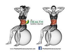 © Sasham | Dreamstime.com - Fitball exercising. Turns torso sitting on fitball. Female