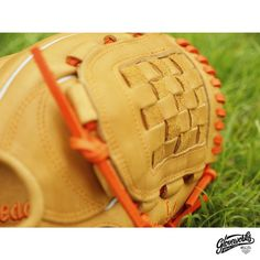Choose what you like from our 22 different glove web designs!   #Gloveworks x Luka - Pro Steerhide in British Tan. What a peaceful scenery. You design it, we make it. Build your own custom baseball glove with Gloveworks Glove Builder at gloveworks.net  #Baseball #BaseballGlove #MLB #CustomGlove #BringItHome
