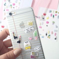 I would love to have that cases but with no stickers ✌️