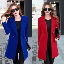 """New Winter Women's Woolen Warm Long Jacket padded Coat Outwear Overcoat coats"""""""