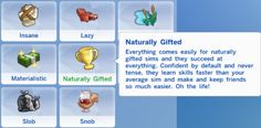Naturally Gifted Trait