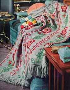 American Rose Afghan Pattern | Crochet Patterns