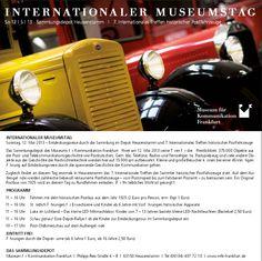 Nachlese zum Internationalen Museumstag IMT13 im Museums für Kommunikation Frankfurt