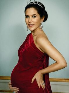 HRH Crown Princess Mary - pregnant with the royal twins