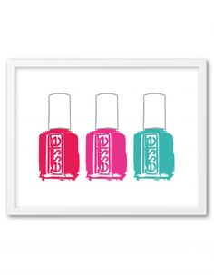Essie Nail Polish Bottle Free Printable from @chicfetti