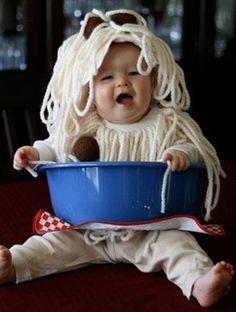 Spaghetti Kid! cute Halloween costume