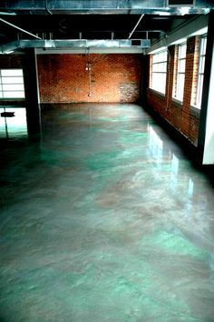 Your definite garage flooring takes a lot of abuse from moisture, oil drips, chemical spills and road salt as it ages. Applying a garage floor paint coating or covering will not single-handedly bank account stirring the pretension your floor looks but Stained Concrete, Concrete Floors, Epoxy Resin Flooring, Epoxy Countertop, Garage Boden, Garage Floor Coatings, Epoxy Garage Floor Coating, Metallic Epoxy Floor, Glitter Floor