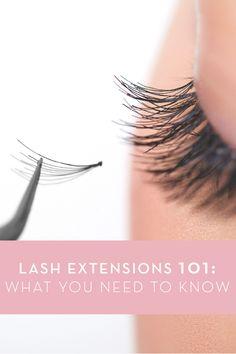Eyelash Extensions: Learn more at: http://infinitelash.com/blog/eyelash-extensions/ #EyelashExtensions #EyelashExtensionMyths