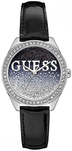 GUESS GLITTER GIRL Women's watches W0823L2 -- You can find more details by visiting the image link.