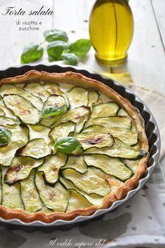 Best Pasta Recipes, Wine Cheese, Ricotta, Quiche, Zucchini, Pizza, Vegetables, Cake, Kitchen
