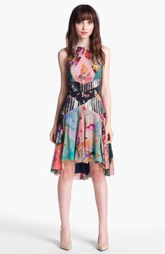 Great prints. Nicole Miller Print Fit & Flare Dress available at #Nordstrom