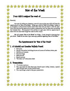 Free: Parent Volunteer Information Sheet for Beginning of the year ...