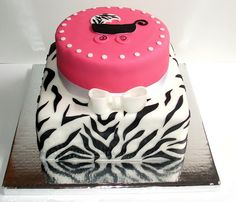 baby shower cake on pinterest zebra baby showers baby shower cakes