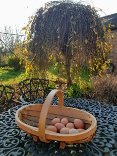 There is nothing like an egg from hens that roam on grass. The yolks are richer in colour and tasty. They're available to buy when staying at Dairy Cottage. Free Range, Hens, Outdoor Furniture, Outdoor Decor, Grass, Dairy, Farmhouse, Cottage, Colour