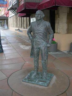 Rapid City, South Dakota The City of Presidents ~ George washington