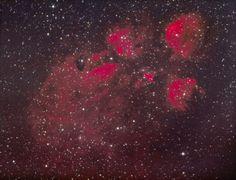 NGC 6334, Cat mancsa