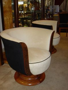 French style Art Deco Swivel Chair | Seating Items | Art Deco Collection