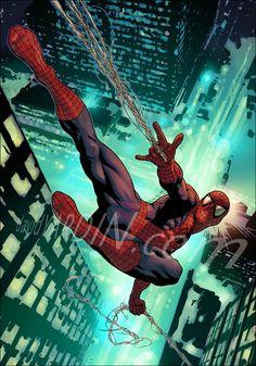 Spider-Man by David Yardin