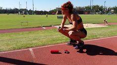 Danka Velďáková Flip runner cardio in Afrika Cardio, Jumper, Running, Celebrities, Sports, Outdoor, Hs Sports, Outdoors, Celebs