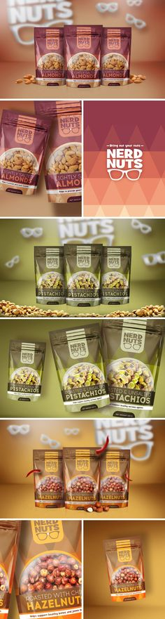Nerd Nuts | Packaging Design