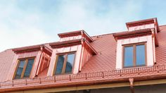 Copper roof repair in Montreal offered by Lambert roofing company and services. Copper roof material is resistant to high wind and moisture. Copper Roof, Of Montreal, Roofing Materials, Roofing Contractors, Roof Repair, Mansions, House Styles, Mansion Houses, Copper Ceiling