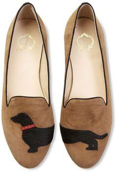 dachshund shoes @Tiffany Leasure