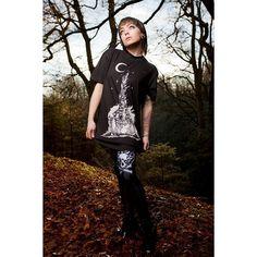 "CRMC X @wirosatan X @viewfromthecoffin ""Aske Til Aske"" Tee & CRMC X @julianakbar ""Satan's Waitin'"" Leggings Available at www.crmc-clothing.co.uk | WE SHIP WORLDWIDE Models - @izabellaraejaxxofficial Photography - @adrianianmcnab #darkwear #need #blackwear #want #fashionstatement #fashion #leggings #loveleggings #iloveblack #womenwithtattoos #winter #winterfashion #styles #style #alternativeguy #alternativeboy #burningchurch #churchburning #blackmetal #love #girlswithtattoos #satan…"