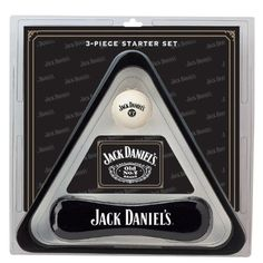 Jack Daniel's Billiard/Pool Table Accessories Set 3 Piece Billiards Set Starter Set Triangle, Brush, and Cue Ball Perfect For Home Game Room Jack Daniel's Logo Jack Daniels Gift Set, Jack Daniels Decor, Jack Daniels Logo, Pool Table Accessories, Billiard Accessories, Billiard Pool Table, Billiards Pool, Man Cave Room, Man Cave Home Bar