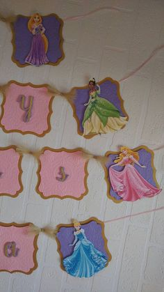 Princess Banner by DreemCrafts on Etsy
