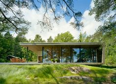 situated on a waterfront property on an island not to far from Stockholm