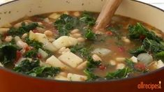 Vegetarian Recipes - How to Make Kale Soup
