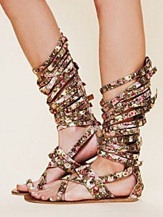 These sandals are so funky but they draw me right in. I think I want a pair.
