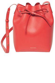 Mansur Gavriel bag, $695, mansurgavriel.com.   - HarpersBAZAAR.com