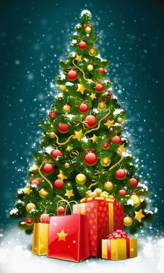Decent Image Scraps: Christmas Tree