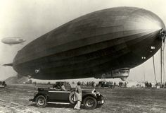 Packard and Graf Zeppelin ca. 1929